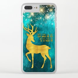 Christmas motif No. 2 Clear iPhone Case