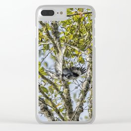 Belted Kingfisher in Flight, No. 1 Clear iPhone Case