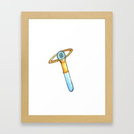 Sailor Mercury Transformation Pen Framed Art Print
