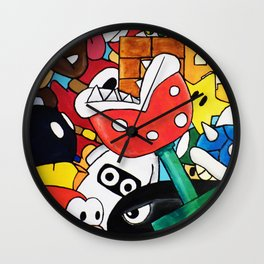 Super Mario Bros Wall Clock