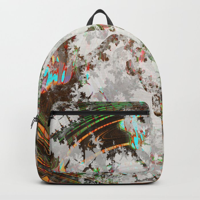 circled partitions Backpack
