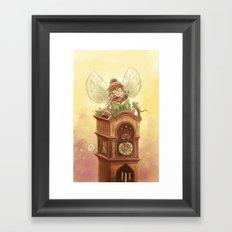 Goblins Drool, Fairies Rule! - Hickory Dock Framed Art Print