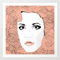 stevie nicks Art Prints featuring Stevie by IN SEARCH OF GOOD THINGS