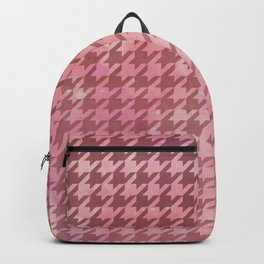 Dogtooth & Houndtooth Pale Pink B.I.G. Backpack