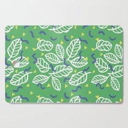 fresh leaves Cutting Board