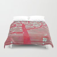 blossom Duvet Covers featuring Blossom by Nic Squirrell
