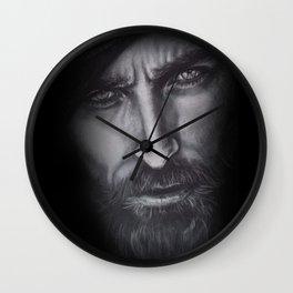 dark man Wall Clock