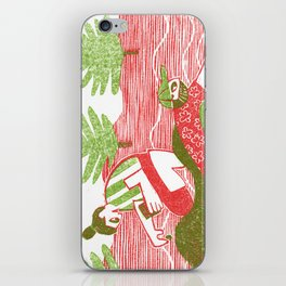 Planting Plants iPhone Skin