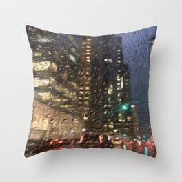 Bryant Park Throw Pillow