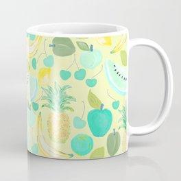 Fruit Punch Retro Aqua Butter Coffee Mug