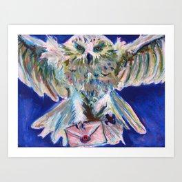 Send an Owl Art Print