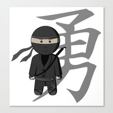 Ninja - Bravery Canvas Print