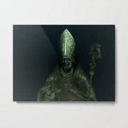 Shrouded Metal Print