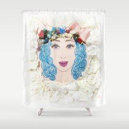 Pretty Girl Shower Curtain
