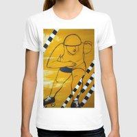 pivot T-shirts featuring Bronx Gridlock by JezRebelle