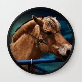 Midnight mare Wall Clock