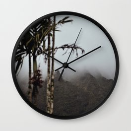 Dark Mornings Wall Clock
