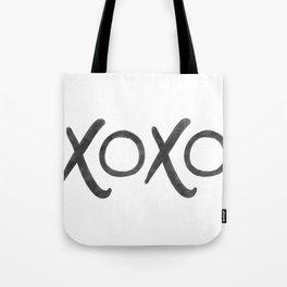 watercolor xoxo Tote Bag