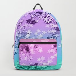 Unicorn Girls Glitter Stars #1 #shiny #decor #art #society6 Backpack