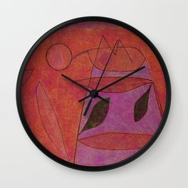 Untitled, 1933 by Paul Klee Wall Clock
