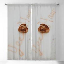Yee Haw Cowboy Hat Blackout Curtain