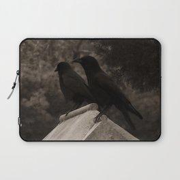 Cemetery Crows Laptop Sleeve