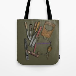 woodworking shop Tote Bag