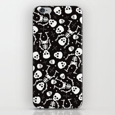 Mexican skull pattern - day of the dead iPhone & iPod Skin