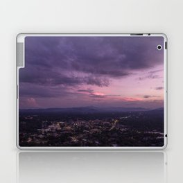 Asheville Stormy Nights Passing By Laptop & iPad Skin