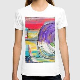 Abstract Summer Land T-shirt