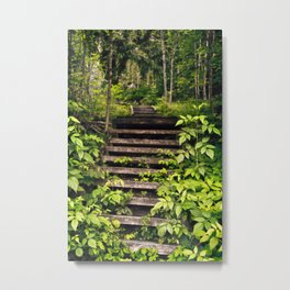 Vegetation Hijack Metal Print
