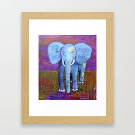 spirit of the elephant Framed Art Print