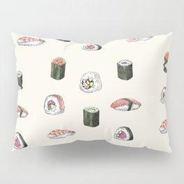 Sushi Pattern Pillow Sham