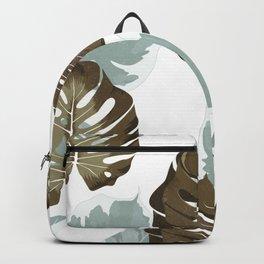 vintage monstera Backpack