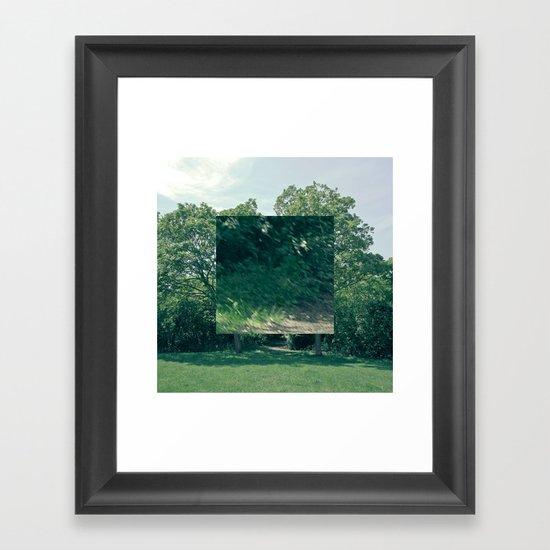 Fokus Objekt Abstand n°3 Framed Art Print