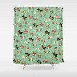 Goldfish Pattern Shower Curtain