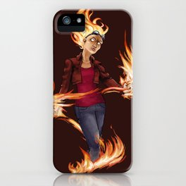 Modern Chandra iPhone Case