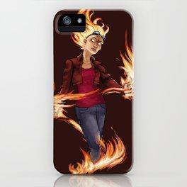 Modern Chandra iPhone Case