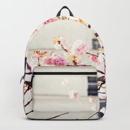 Cherry blossoms in Paris, Facades Backpack