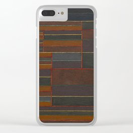 In the Current Six Thresholds by Paul Klee Clear iPhone Case