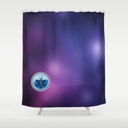 EOS 10, Alliance Medical Shower Curtain