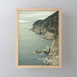 Tossa de Mar, Catalonia Framed Mini Art Print