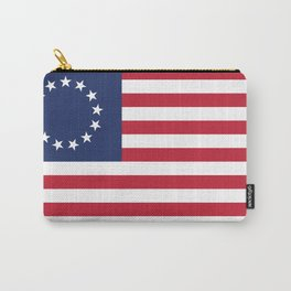 Betsy Ross flag of the USA Carry-All Pouch