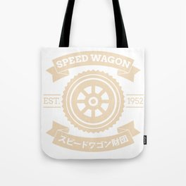 SPW - Speed Wagon Foundation Tote Bag