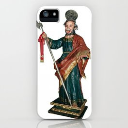 San Judas Tadeo iPhone Case