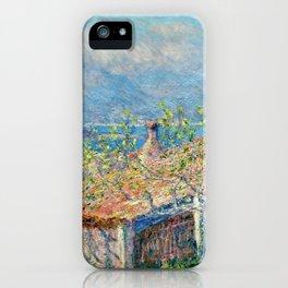 "Claude Monet ""Gardener's House at Antibes"", 1888 iPhone Case"