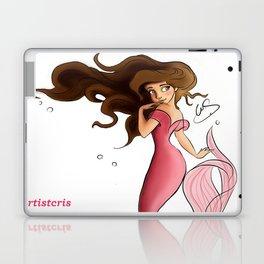 Mermaid Aqua Laptop & iPad Skin