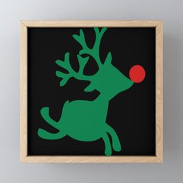Christmas Santa Claus Gift Fest Framed Mini Art Print