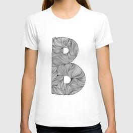 Hand Drawn Font B T-shirt