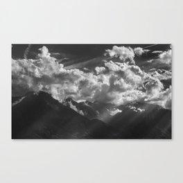 Between Rays Canvas Print